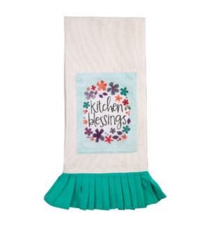 Kitchen Blessings Vintage Tea Towel*