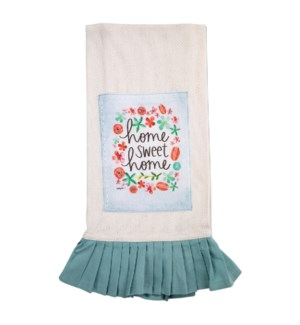 Home Sweet Home Vintage Tea Towel*