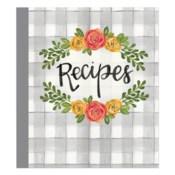 Floral Recipe Binder ETA 6/8