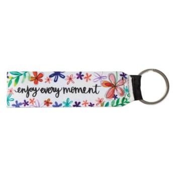 Enjoy Every Moment Keychain