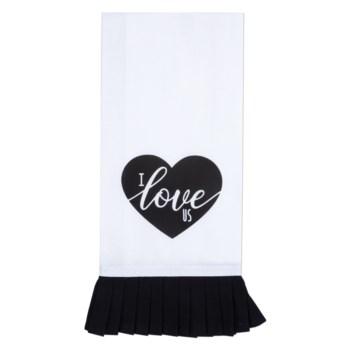 I Love Us Wedding Tea Towel