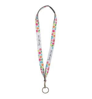 Love You More Lanyard*