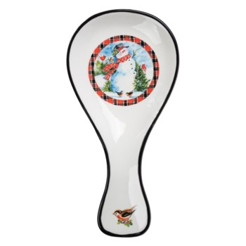 Friendly Snowman Spoon Rest