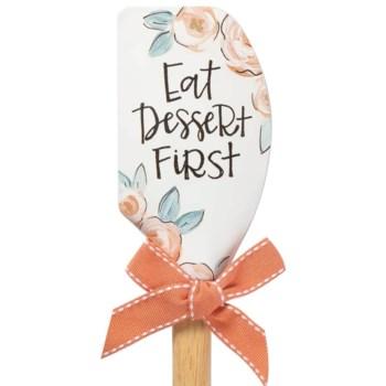 Eat Dessert First Vintage Spatula