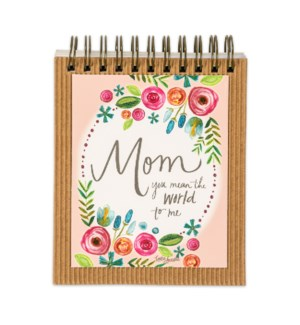 Mom: You Mean The World To Me EaselBook*