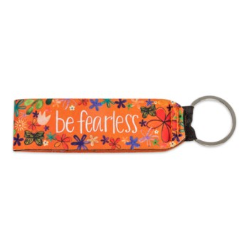 Be Fearless Keychain