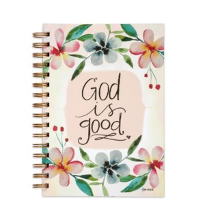 God Is Good Wirebound Scripture Journal