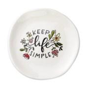 Keep Life Simple Trinket Tray*