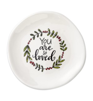 You Are So Loved Trinket Tray*