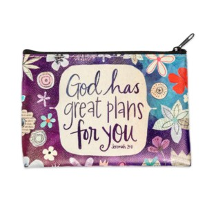 Great Plans Zippered Coin Purse