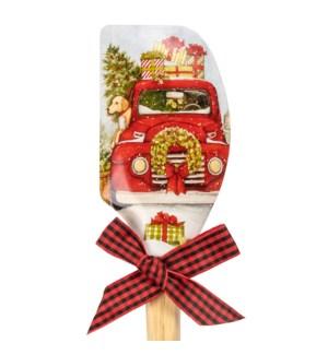 Christmas Truck Christmas Spatula