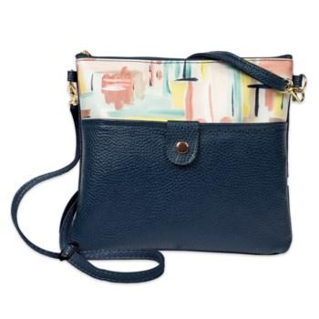 Bella Caroline Navy Blue Crossbody Bag