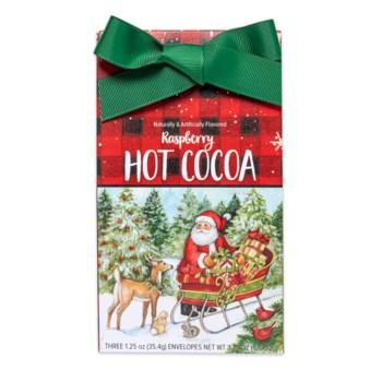 Santa Sleigh Raspberry Cocoa