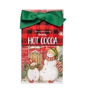 Sledding Snowmen Smores Cocoa