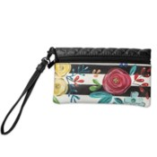 Bella Caroline Black Travel Wristlet*