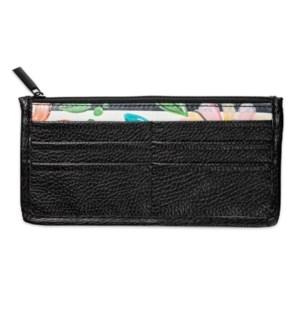 Bella Caroline Black Carry-All Wallet