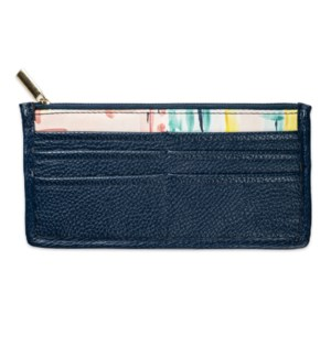 Bella Caroline Navy Blue Carry-All Wallet