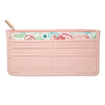 Bella Caroline Pale Pink Carry-All Wallet
