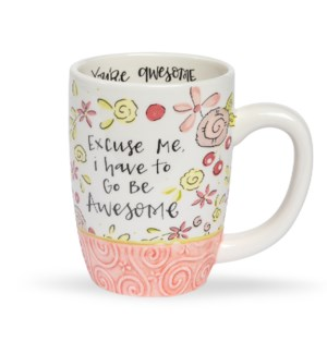 Go Be Awesome Simple Inspirations Gift Mug