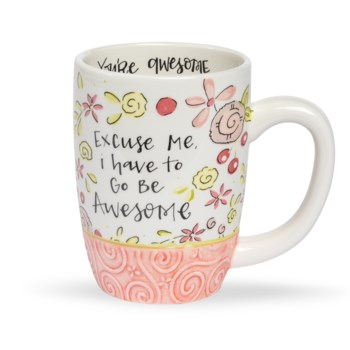 Go Be Awesome Simple Inspirations Gift Mug