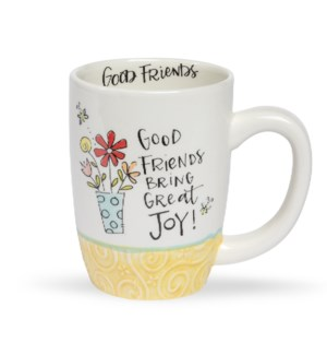 Good Friends Simple Inspirations Gift Mug