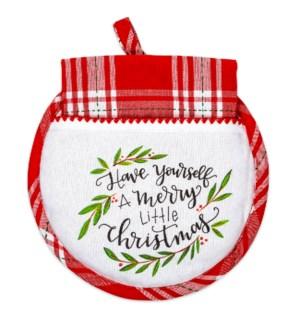 Merry Little Christmas Hot Pad/Tea Towel ETA 6/1