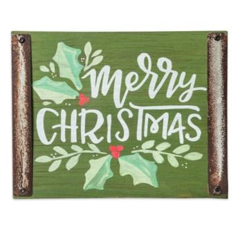 Merry Christmas Wood Block Sign*