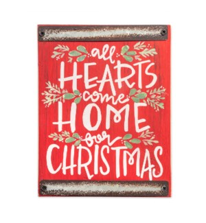 Home For Christmas Wood Block Sign*
