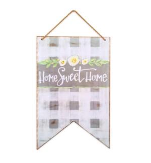 Home Sweet Home Door & Wall Hanging Sign