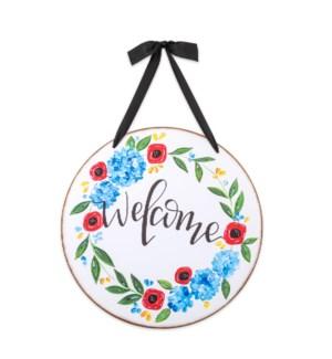Welcome Door & Wall Hanging Sign