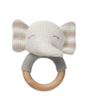 Elephant Shaped Teething Rattle*