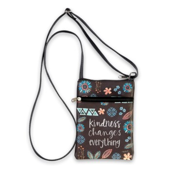 Kindness Changes Everything Large Crossbody Bag
