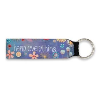 Happy Everything Wristlet Keychain