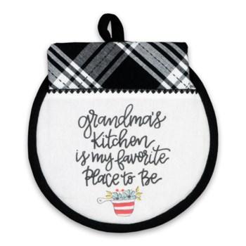 Grandmas Kitchen Hotpad/Towel Set