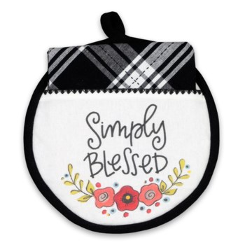 Simply Blessed Hotpad/Towel Set