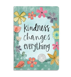 Kindness Changes Softcover Journal