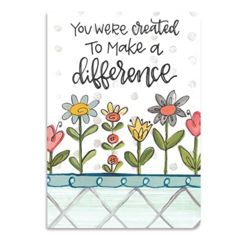 Make Difference Softcover Journal