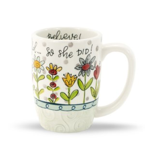She Believed Simple Inspirations Gift Mug