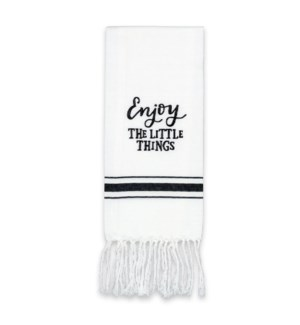 Enjoy Lttle Things Artisan Home Towel