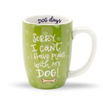 Plans With My Dog Gift Mug