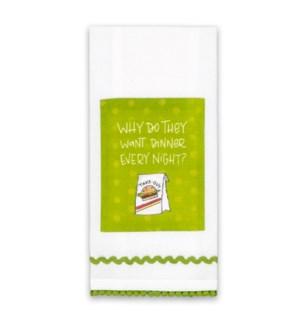 Dinner Every Night Sassy Towel