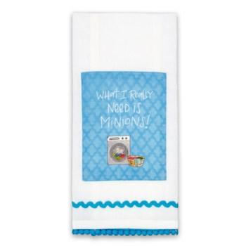 Minions Sassy Tea Towel