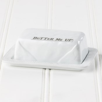 Butter Me Up Butter Dish With Lid