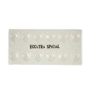 Eggstra Special Egg Serving Platter