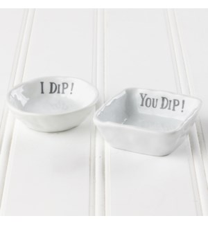 I Dip, You Dip Bowls - Set of 2
