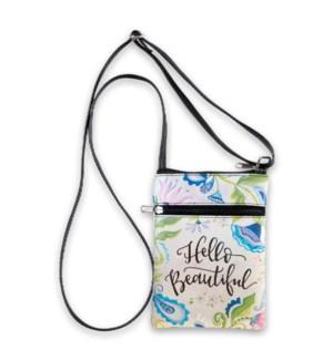 Hello Beautiful Large Crossbody Bag