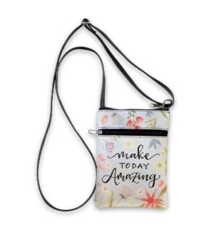Make Today Amazing Large Crossbody Bag