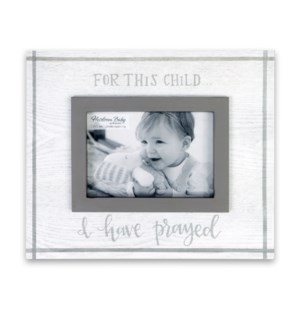For This Child Heirloom Frame