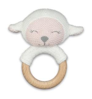 Lamb Teething Rattle*