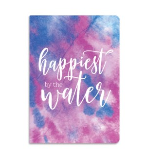 Happiest By Water Softcover Journal